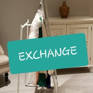 Exchange - only accepted as pre-arranged